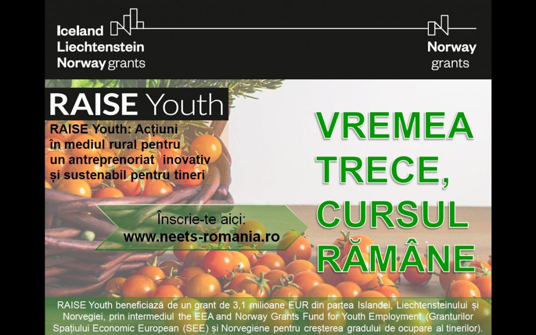 Noutăți din campania de comunicare a proiectului RAISE Youth